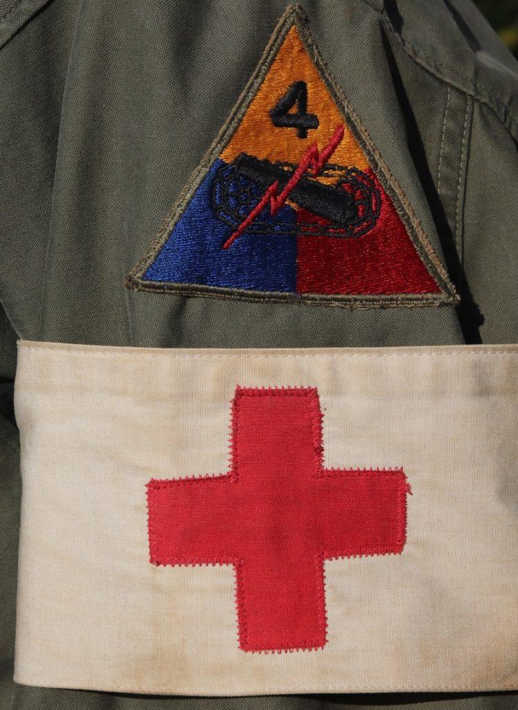 WW2 US Army Medical Brassard