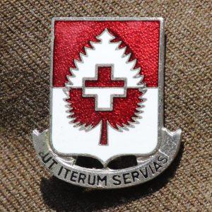 46th Armored Medical Battalion Crest WW2