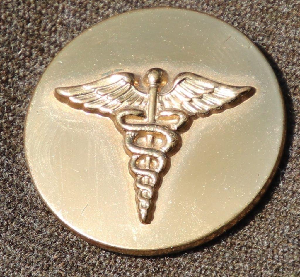 Guide Personnel Disk Caduceus Medical Enlisted Men