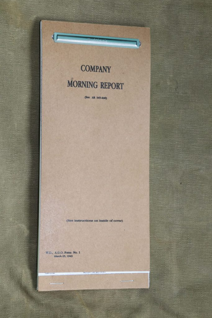 Guide Company Morning Reports Cover