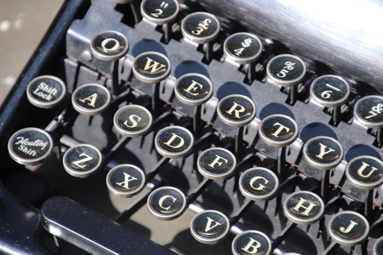 US Army WW2 Typewriter