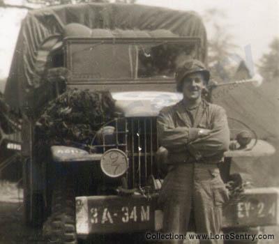 34th Evacuation Hospital Truck WW2