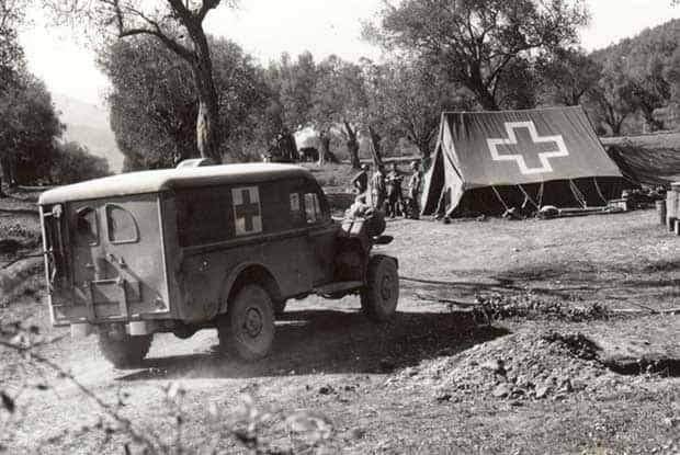 Medical Evacuation Chain WW2