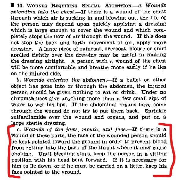 FM 21-11 Section II Paragraph 13