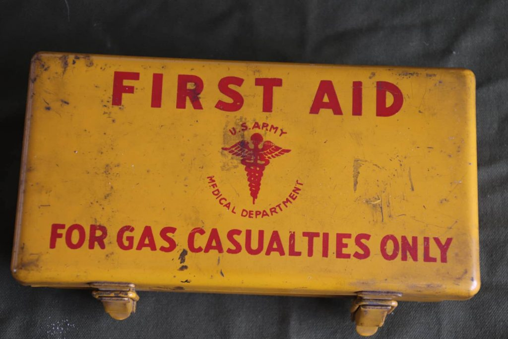 Motor Vehicle First Aid Kit Gas Casualty