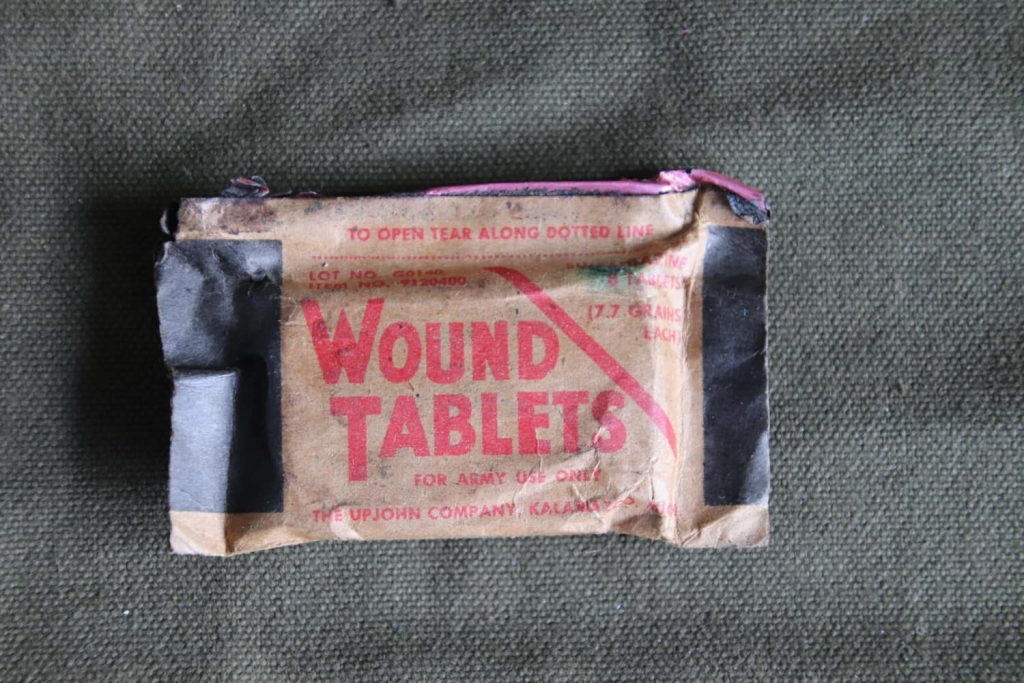 Wound Tablets Front