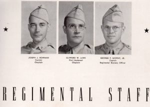 35th Arm Reg Staff