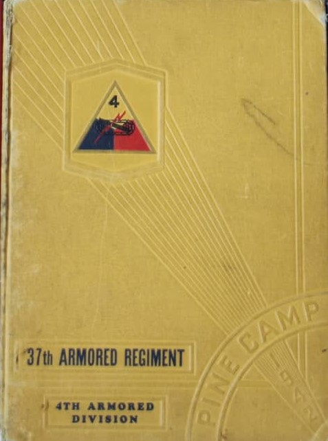 37th Arm Reg Yearbook