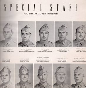 4th AD Special Staff-1