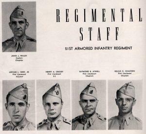 51st Arm Inf Reg Staff-