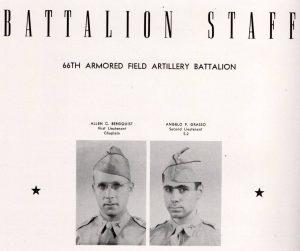 66th Arm Fld Art Bn Staff