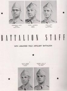 94th Arm Fld Art Bn Staff