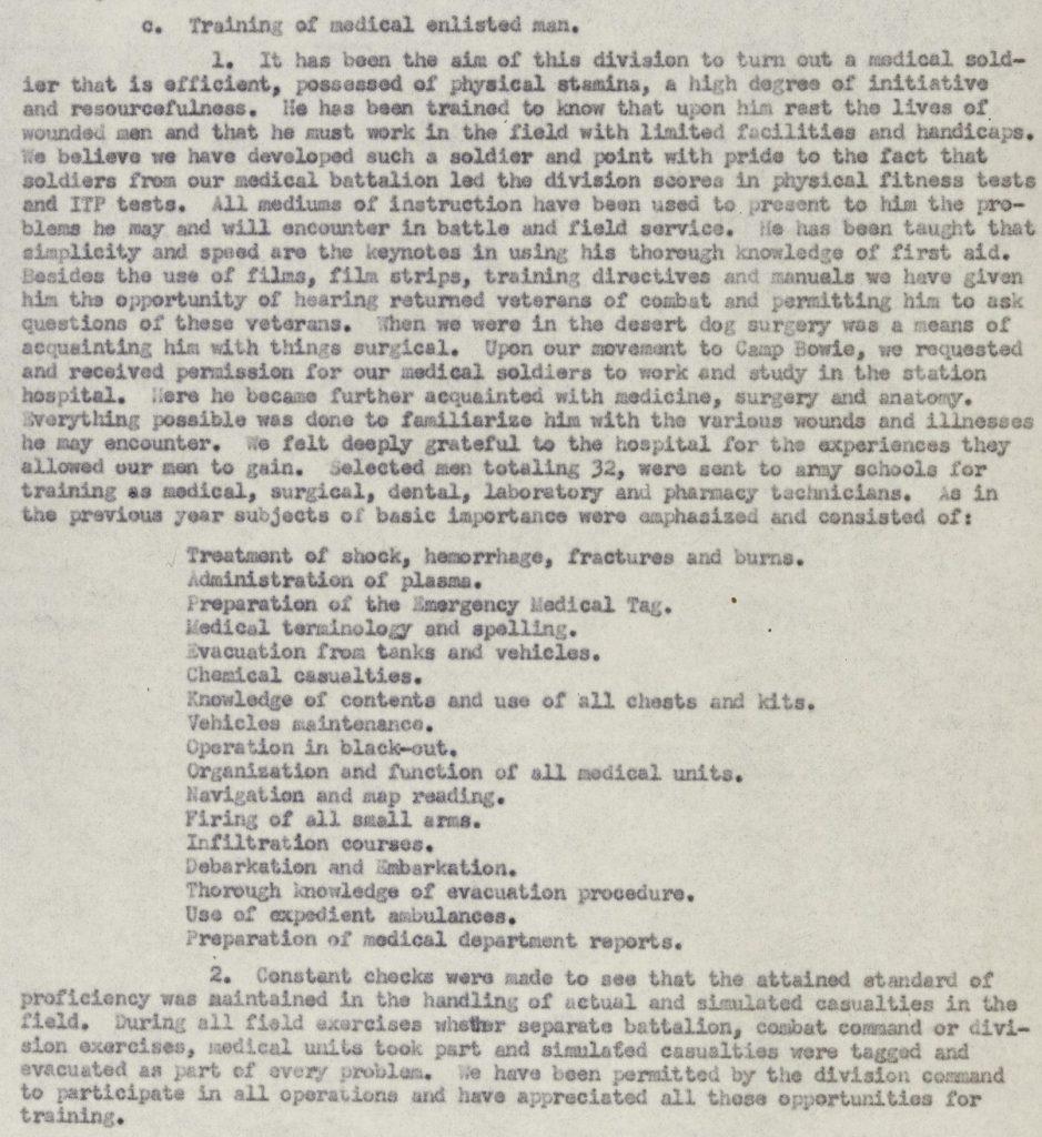 Activity Report, Morris Abrams 1943