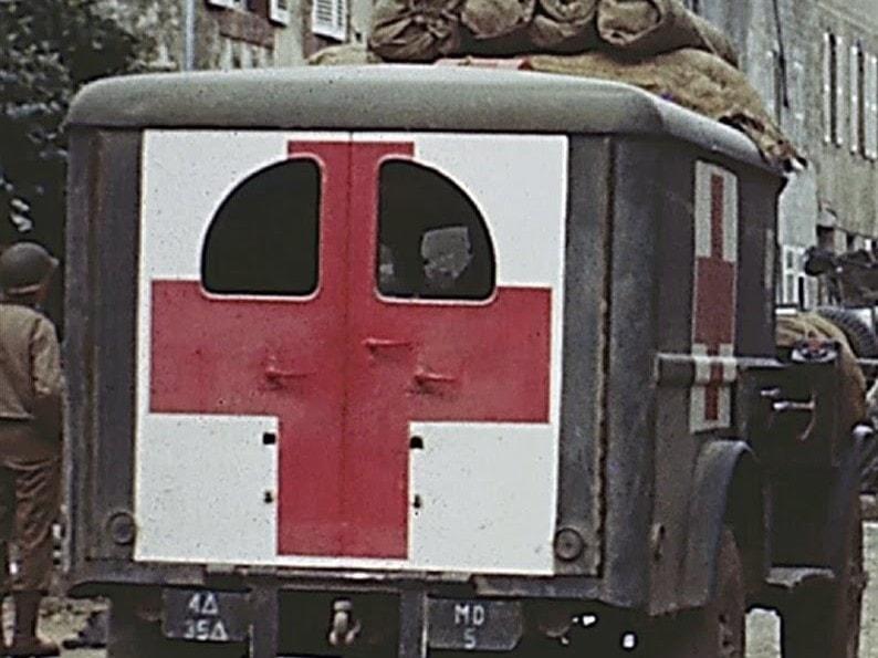 Ambulance Medical Detachment 35tht Tank Battalion