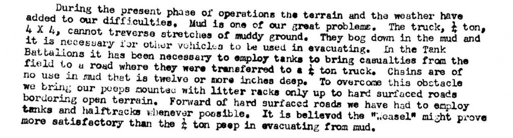 Division Surgeon November 19th 1944
