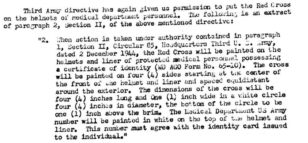 Division Surgeon Journal Dec 4th, 1944