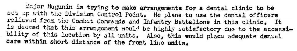 Division Surgeon Journal 1944-DC 2