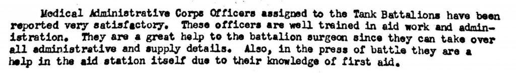 Division Surgeon Journal 1944-MACs 3