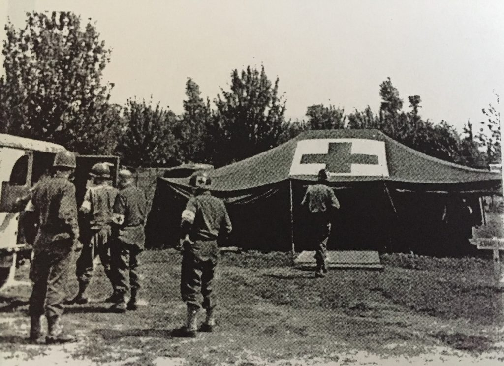 Company C Clearing Station- Normandy