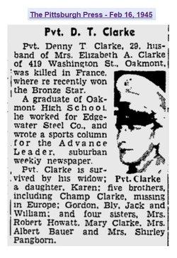 Denny T. Clarke