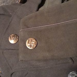 George Ehnes Uniform and garrison cap