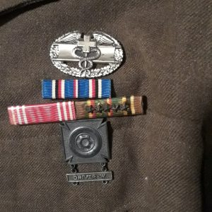 George Ehnes CMB, medals and driver badge