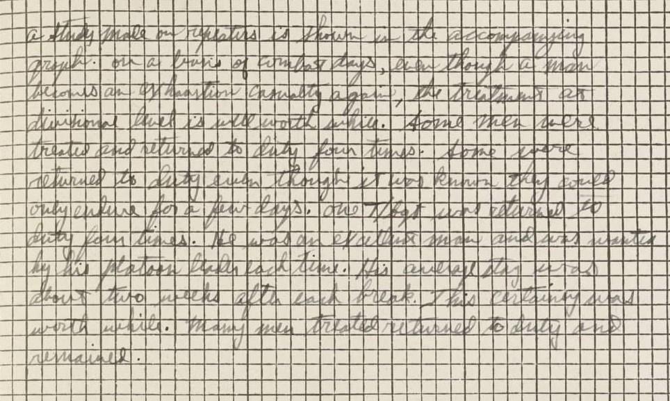 Handwritten notes on diagram