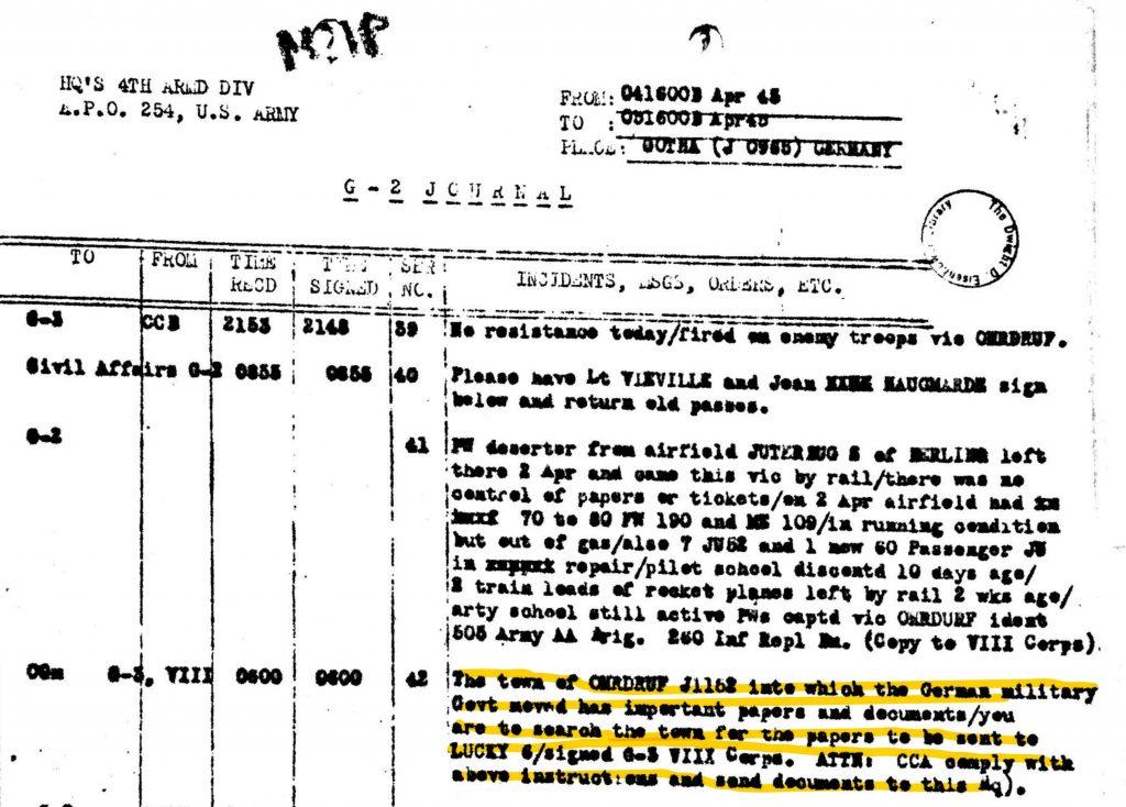 G-2 Journal April 1945