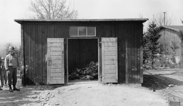 Wooden shack ohrdruf