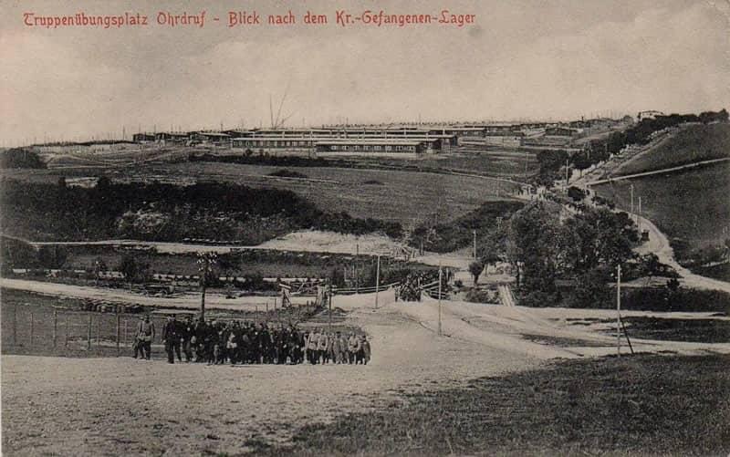 Ohrdruf POW camp WWI