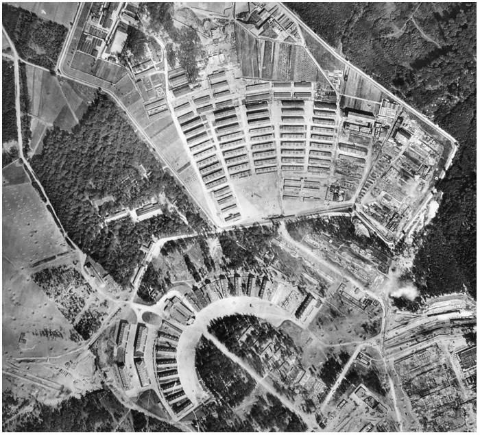 Aerial photo Buchenwald