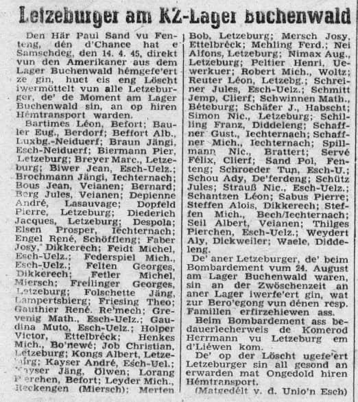 Escher Tageblatt 1945-04-19