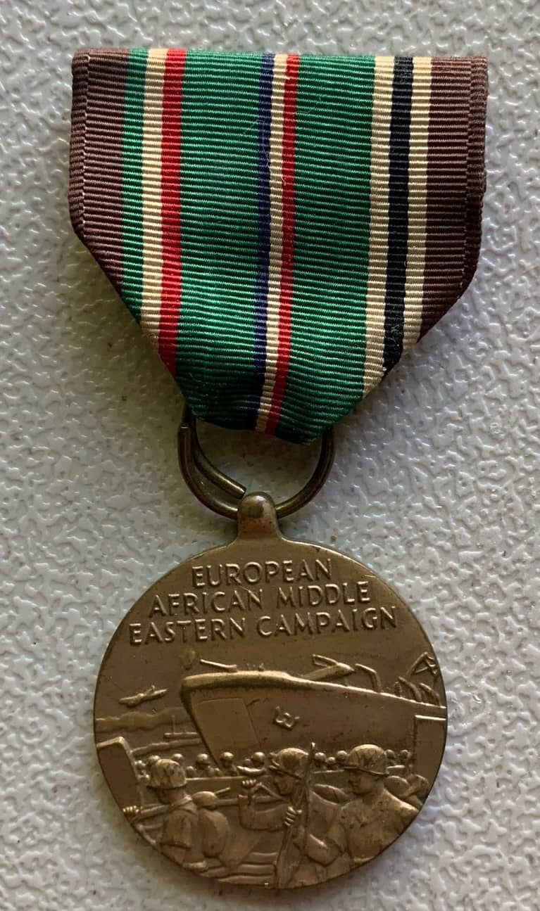 Paul F Skayhan Europe, Africa, Middle East Campaign Medal