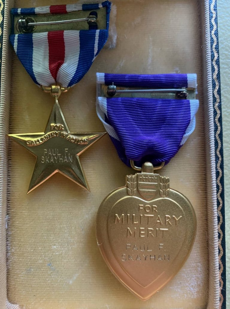 Paul F Skayhan Silver Star and Purple Hart- Named