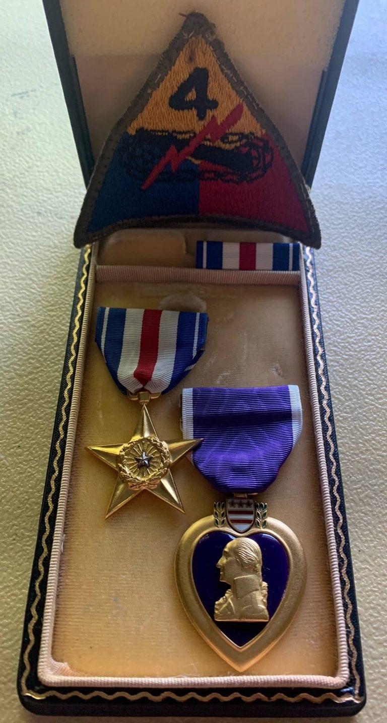 Paul F Skayhan Silver Star and Purple Hart