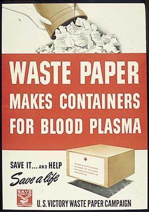 Fiberboard box plasma